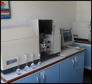 Laboratório de apoio.